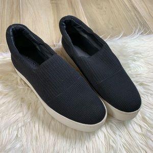Vince Platform Slip on Sneaker Size 6